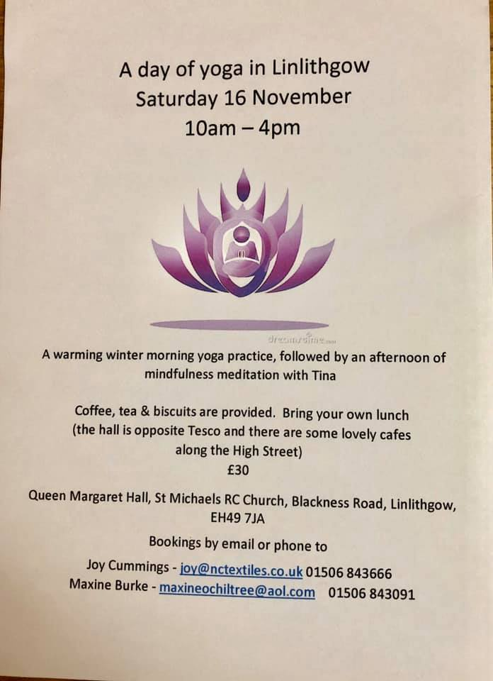 A Day Of Yoga Linlithgow