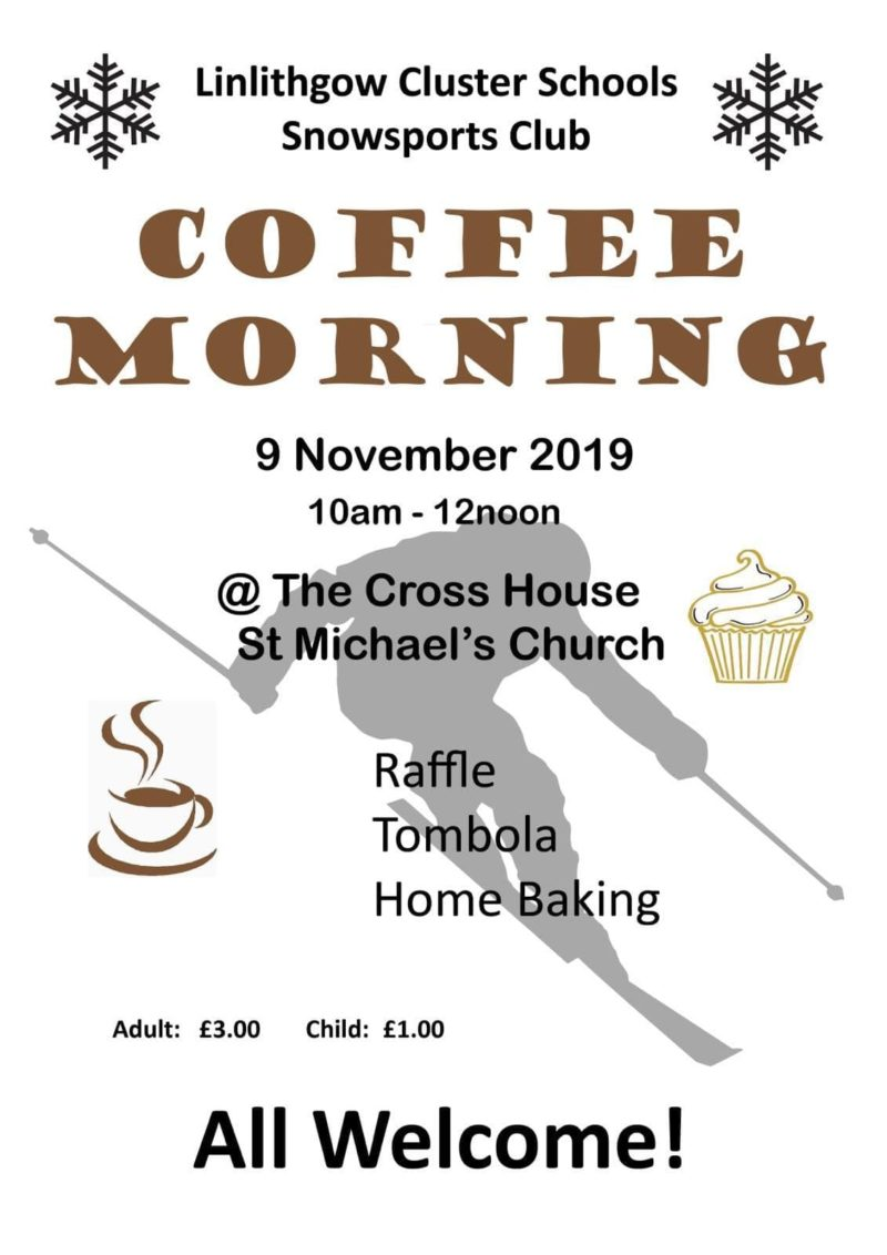 Snowsports Coffee Morning My Linlithgow