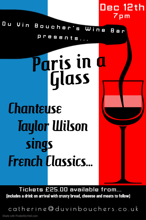 Paris in a Glass Poster