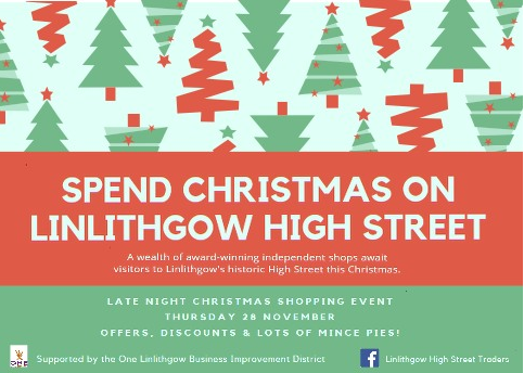 Christmas Late Night Shopping Poster