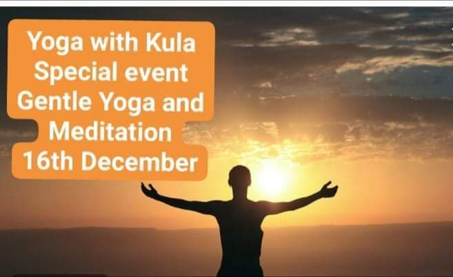 Poster for Yoga with Kula Special Event
