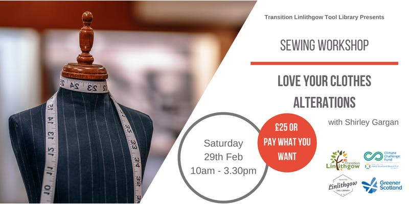 Love your Clothes Alterations Sewing Workshop