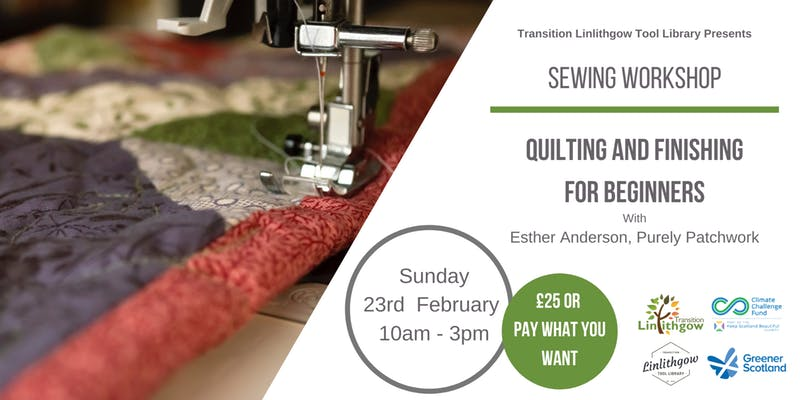Quilting and Finishing for Beginners