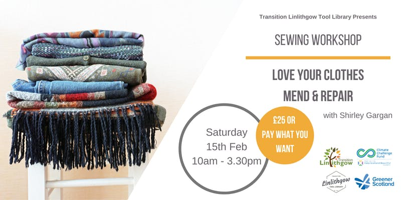 Sewing Workshop Love Your Clothes Mend And Repair