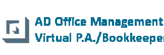 AD Office Management – Virtual P.A./Bookkeeper