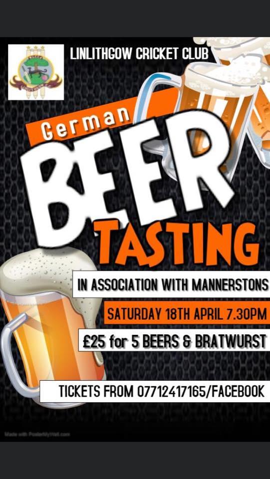 German Beer Tasting