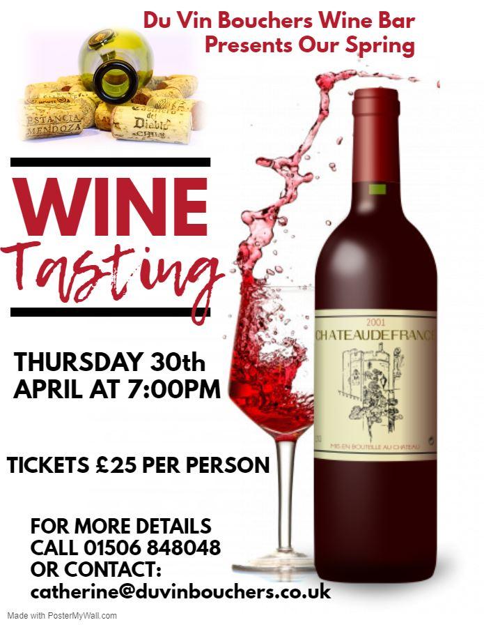 Spring Wine Tasting Event
