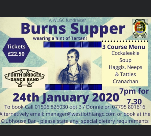 WLGC Burns Supper