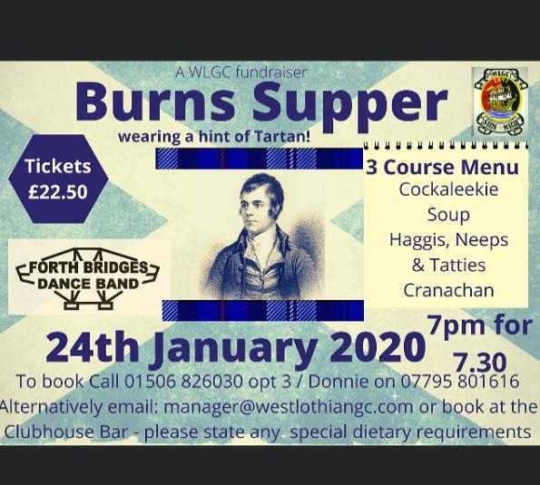 WLGC Burns Supper