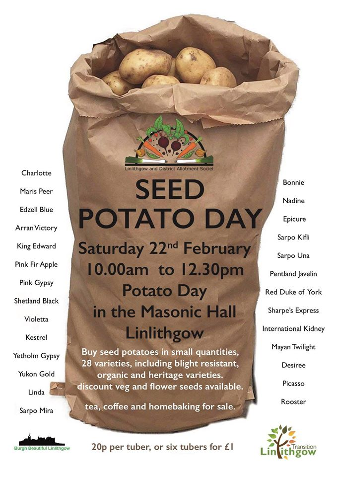 Seed Potato Day Poster