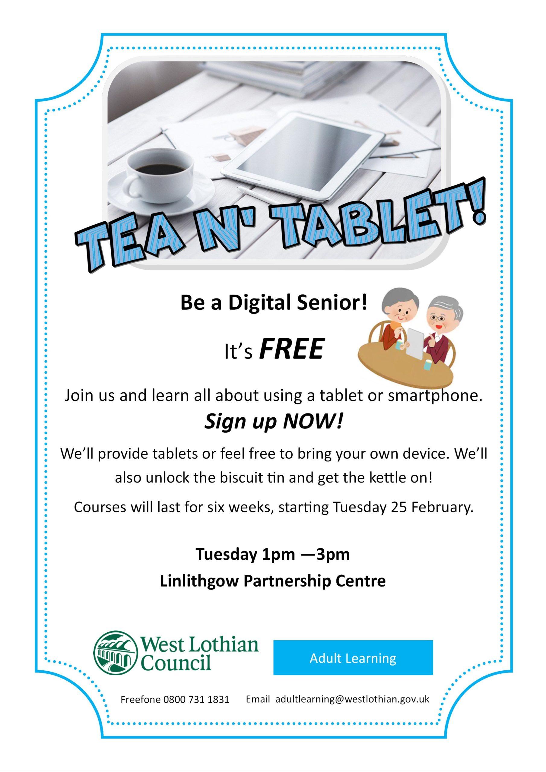 Tea N Tablet poster