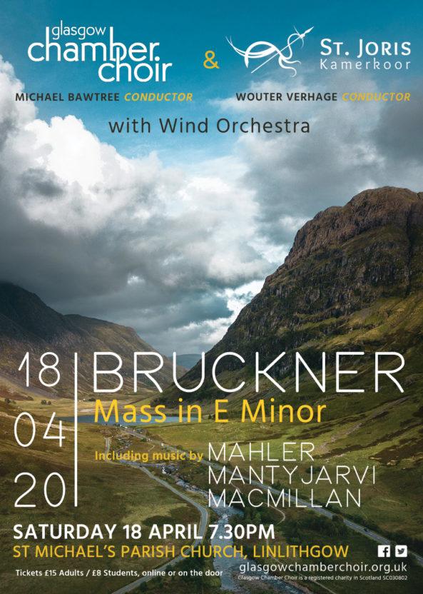 Chamber Choir Concert Poster