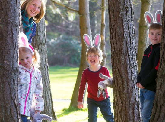 Kids as Easter Bunnies