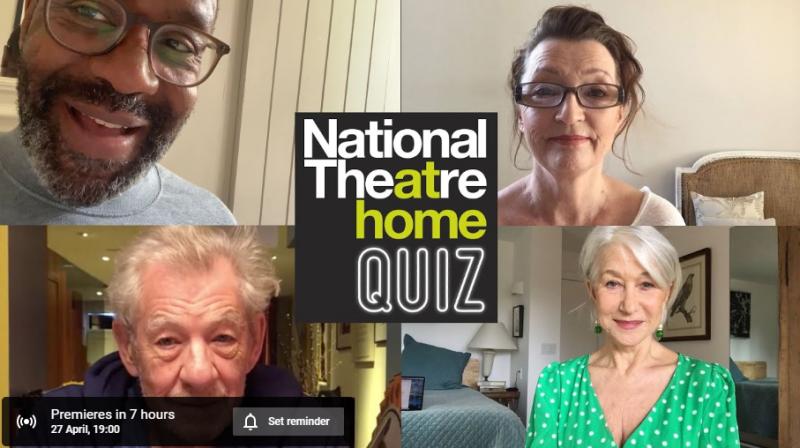National Theatre Quiz 1