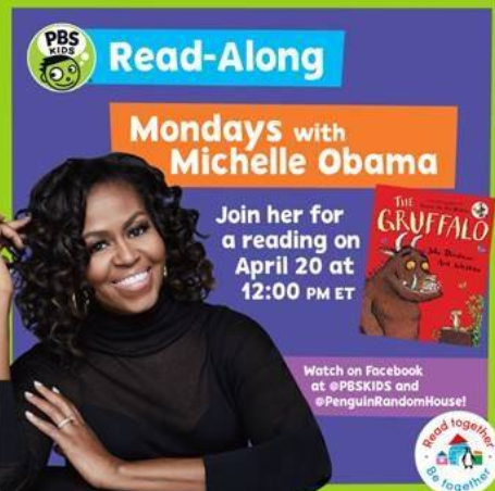 Read Along with Michelle Obama