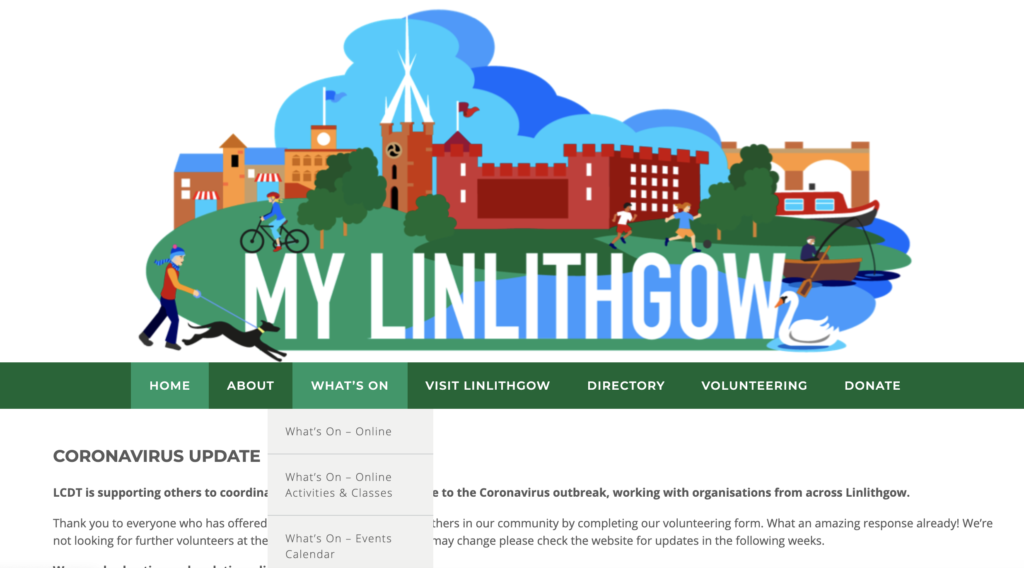 MyLinlithgow - Keeping You Updated During the Coronavirus