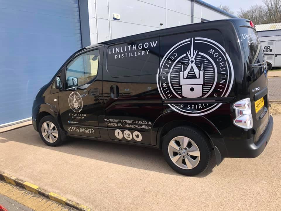 Linlithgow Gin Distillery Van