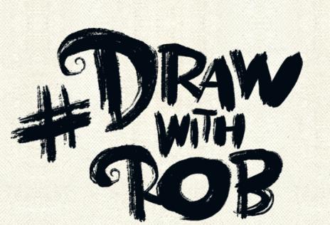 Draw with Rob logo