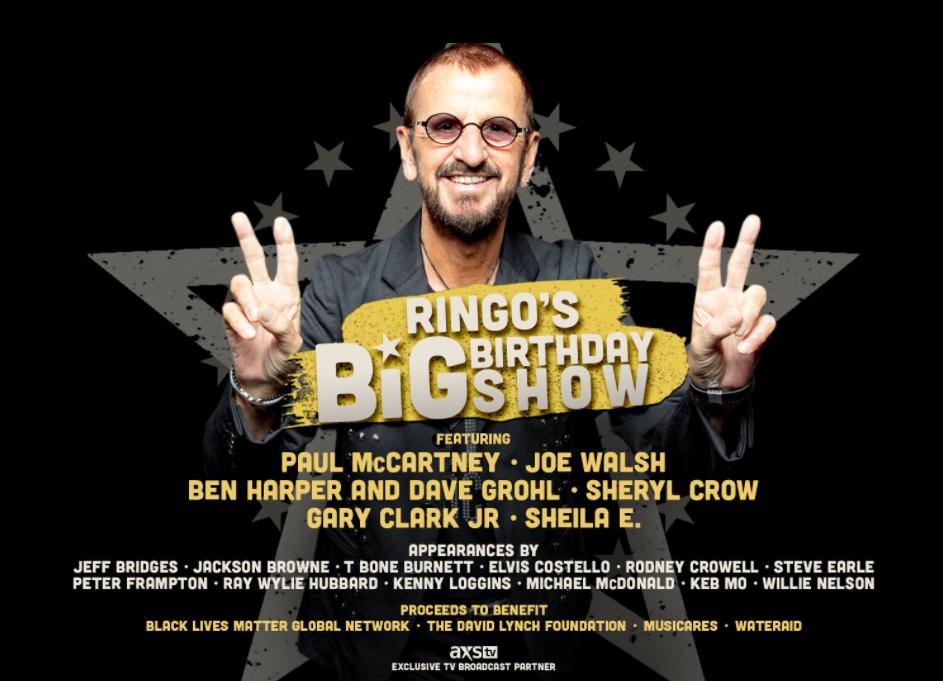 Ringo Starr 80th Birthday Concert