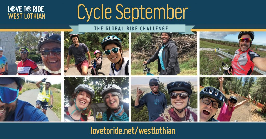 Community News 27th August: Cycle September Global Bike Challenge and Updates from LCDT & the Community Council
