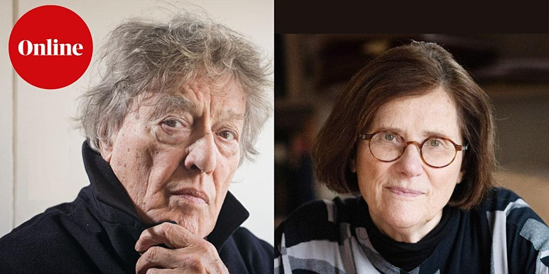 Tom Stoppard and Hermione Lee