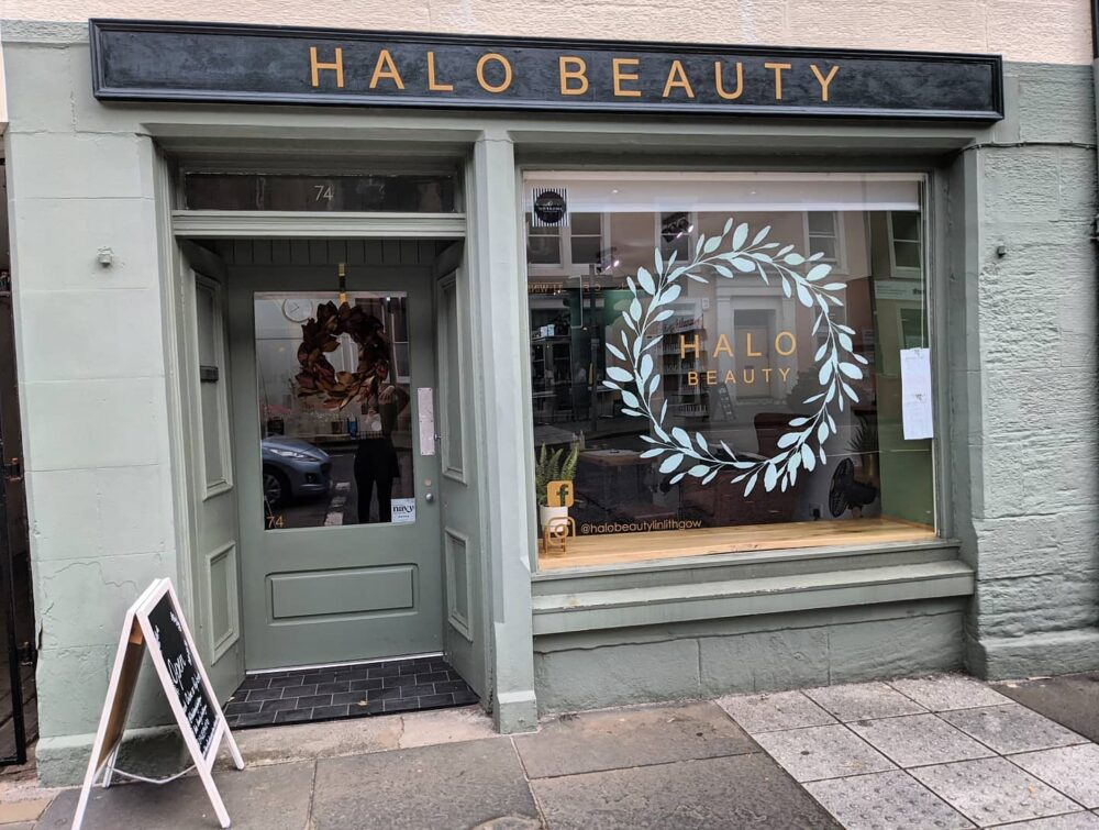 Halo Beauty exterior