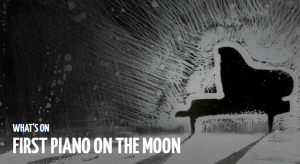 first piano on the moon