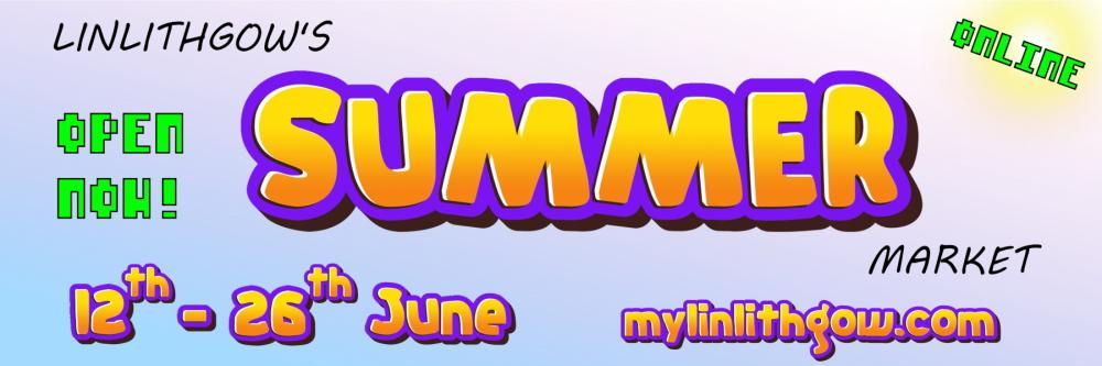 Summer market banner
